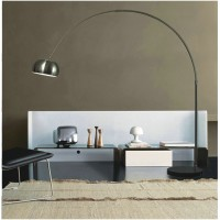 Arco Lamp with round base-Medium size