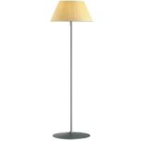 Rattan Floor Lamp With Four Bulbs