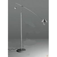 Antique solid wood floor lamp