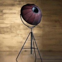 Fortuny Floor Lamp of small size