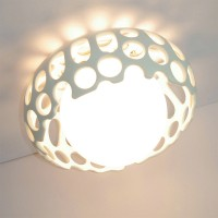 Hollow Ceiling Lamp Of Large Size