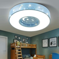 Children room ceiling lamp led star light