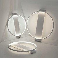 Creative Simple round LED ceiling lamp wall lamp