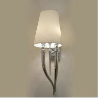 Ox Horn Wall Light Of Large Size