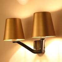 Solar eclipse wall lamp