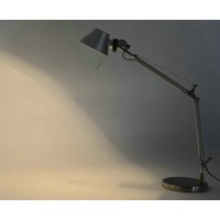Artemide Style Tolomeo Desk or Table Lamp of Double arms in Extra Large size