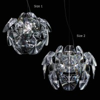 Hope Suspension Lamp By Luceplan Large of Small size