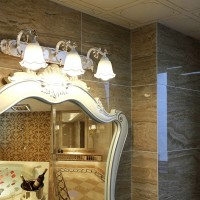Mirror front lamp for bathroom